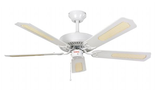 "Fantasia Classic 52"" White Ceiling Fan 110033"